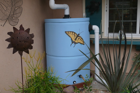 200 gallon ferrocement tank with custom painting picture